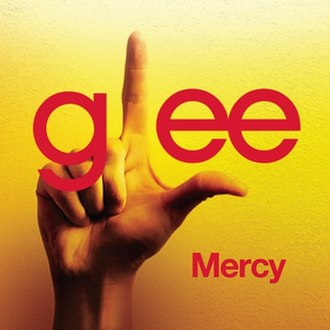 Mercy (Duffy song) - Glee cast version single cover.