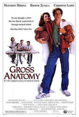Gross Anatomy (film) - Theatrical release poster