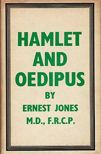 Hamlet and Oedipus - Cover of the first American edition