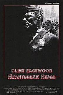 <i>Heartbreak Ridge</i> 1986 American war film by Clint Eastwood