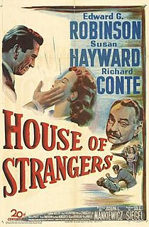 <i>House of Strangers</i> 1949 American film by Joseph L. Mankiewicz