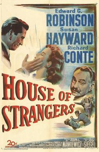 House of Strangers - Theatrical release poster