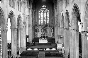 St Patrick's Cathedral, Armagh (Roman Catholic) - Interior of the Cathedral as completed in 1873