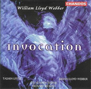 Invocation (William Lloyd Webber album) - Image: Invocation cd