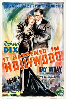 <i>It Happened in Hollywood</i> 1937 film by Harry Lachman