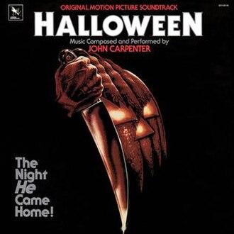 Halloween (soundtrack) - Image: John Carpenter Halloween soundtrack 1983