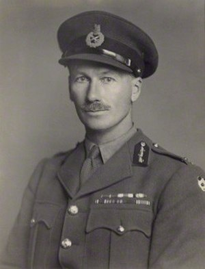 John D'Arcy (British Army officer) - Image: John D'Arcy in 1943