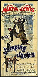 <i>Jumping Jacks</i> 1952 film by Norman Taurog