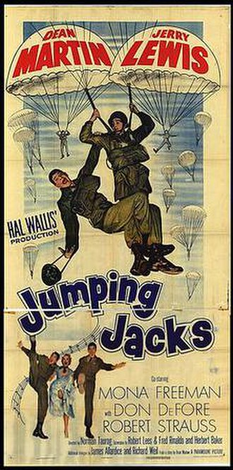 Jumping Jacks - Theatrical film poster