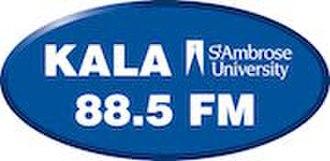KALA (FM) - Image: KALA 88.5FM logo