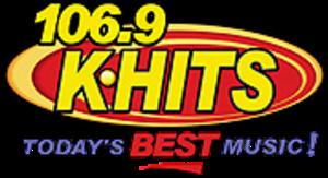 KHTT - 106.9 K-HITS logo used until 2016.