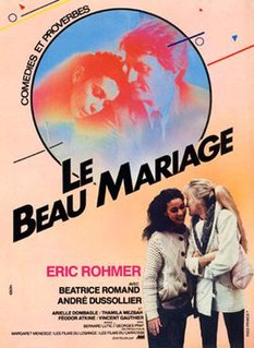 <i>Le Beau Mariage</i> 1982 French film directed by Éric Rohmer