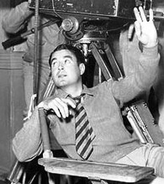 Leo McCarey - on the set of Make Way for Tomorrow (1937)