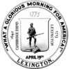Official seal of Lexington, Massachusetts