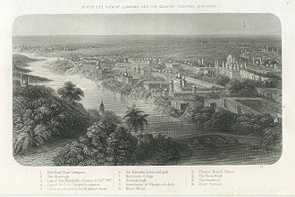 Lucknow - Lucknow towards Cawnpore circa 1860