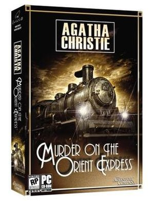 Agatha Christie: Murder on the Orient Express - Image: MOE box
