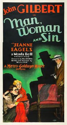 Man, Woman and Sin 1927 film poster.jpg