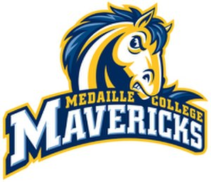 Medaille College - Image: Medaille College Mavericks Athletic Department Logo