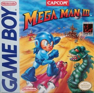 Mega Man III (Game Boy) - North American cover art