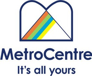 MetroCentre (shopping centre) - Logo 2006-2009