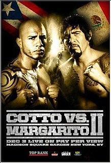 Miguel Cotto vs. Antonio Margarito II Boxing competition