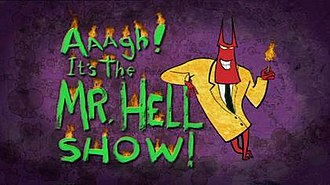 Aaagh! It's the Mr. Hell Show! - Image: Mr Hell Titles