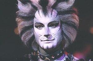 Munkustrap - Michael Gruber as Munkustrap in the 1998 Cats video.