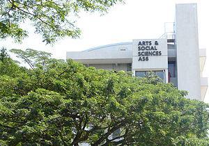 NUS School of Computing -  AS6. NUS SoC occupies a number of floors in this building that is adjacent to COM1