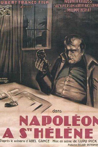 Napoleon at Saint Helena - French release poster