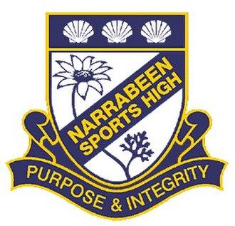Narrabeen Sports High School - Narrabeen Sports High School Crest