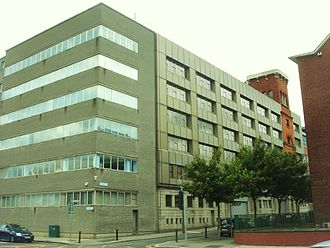 National Archives of Ireland - National Archives offices on Bishop Street in Dublin
