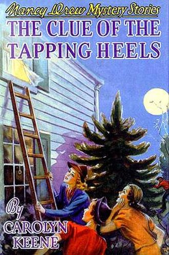 The Clue of the Tapping Heels - Original edition cover