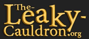 The Leaky Cauldron (website) - Image: New TLC banner
