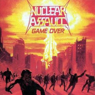 Game Over (Nuclear Assault album) - Image: Nuclear Assault Game Over