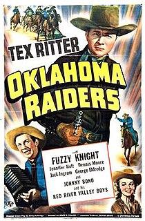 <i>Oklahoma Raiders</i> 1944 film by Lewis D. Collins