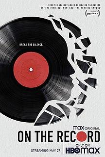 <i>On the Record</i> (film) 2020 documentary film