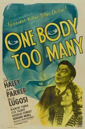 One Body Too Many - Promotional release poster