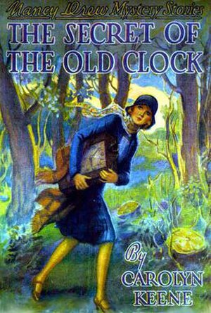 The Secret of the Old Clock - Original cover by Russell H. Tandy