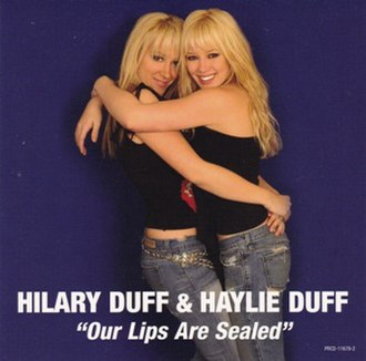Our Lips Are Sealed - Image: Our Lips Are Sealed duffsisters