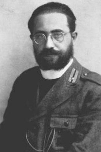 Massacre of the Acqui Division - Padre Romualdo Formato, one of the seven chaplains of the Acqui Division.