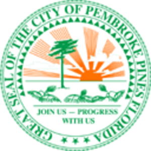 Pembroke Pines, Florida - Image: Pembroke Pines city seal