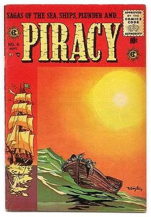 Piracy (comics) - Cover illustration by Bernard Krigstein