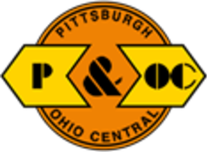 Pittsburgh and Ohio Central Railroad - Image: Pittsburgh and Ohio Central Railroad logo