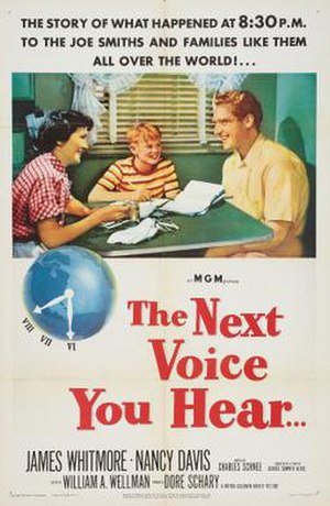 The Next Voice You Hear... - Image: Poster of the movie The Next Voice You Hear..