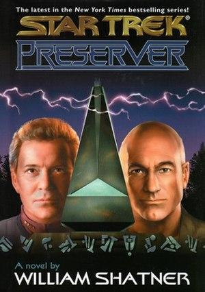 Preserver (novel) - Cover of Preserver