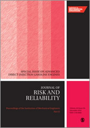 Proceedings of the Institution of Mechanical Engineers, Part O: Journal of Risk and Reliability - Image: Proceedings of the I Mech E O journal cover