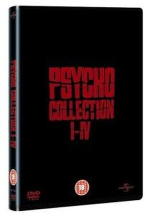 Psycho (franchise) - 2003 DVD box set of the first four main films (UK).