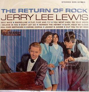 <i>The Return of Rock</i> 1965 studio album by Jerry Lee Lewis