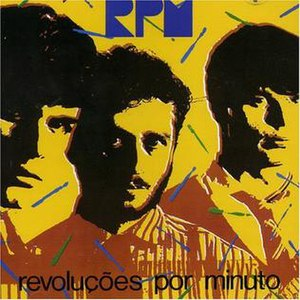 RPM (Brazilian band) - RPM's members, as depicted in the cover of the album Revoluções por Minuto