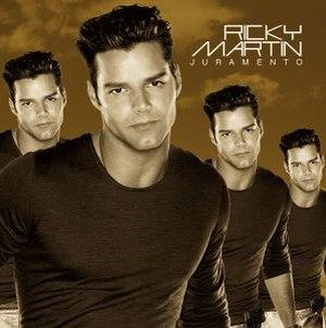 Juramento (song) - Image: Ricky Martin Juramento
